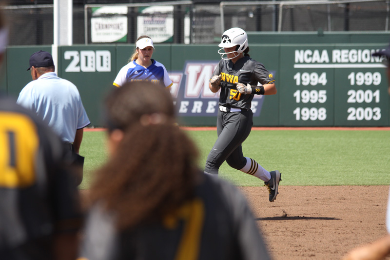 NCAA 1B Kalena Burns Iowa State