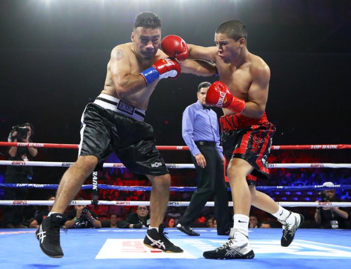 Pro Boxer Saul Neno Rodriguez
